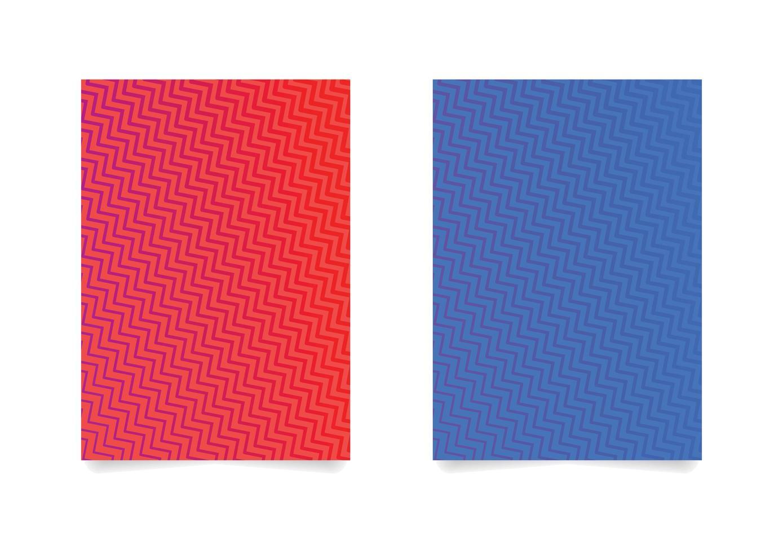 zig zag patroon achtergrond instellen vector