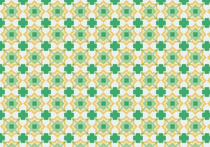 Kleurrijke Vierkante Achtergrond van het Patroon vector