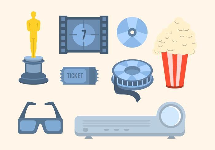 Gratis Cinema Vector Collection