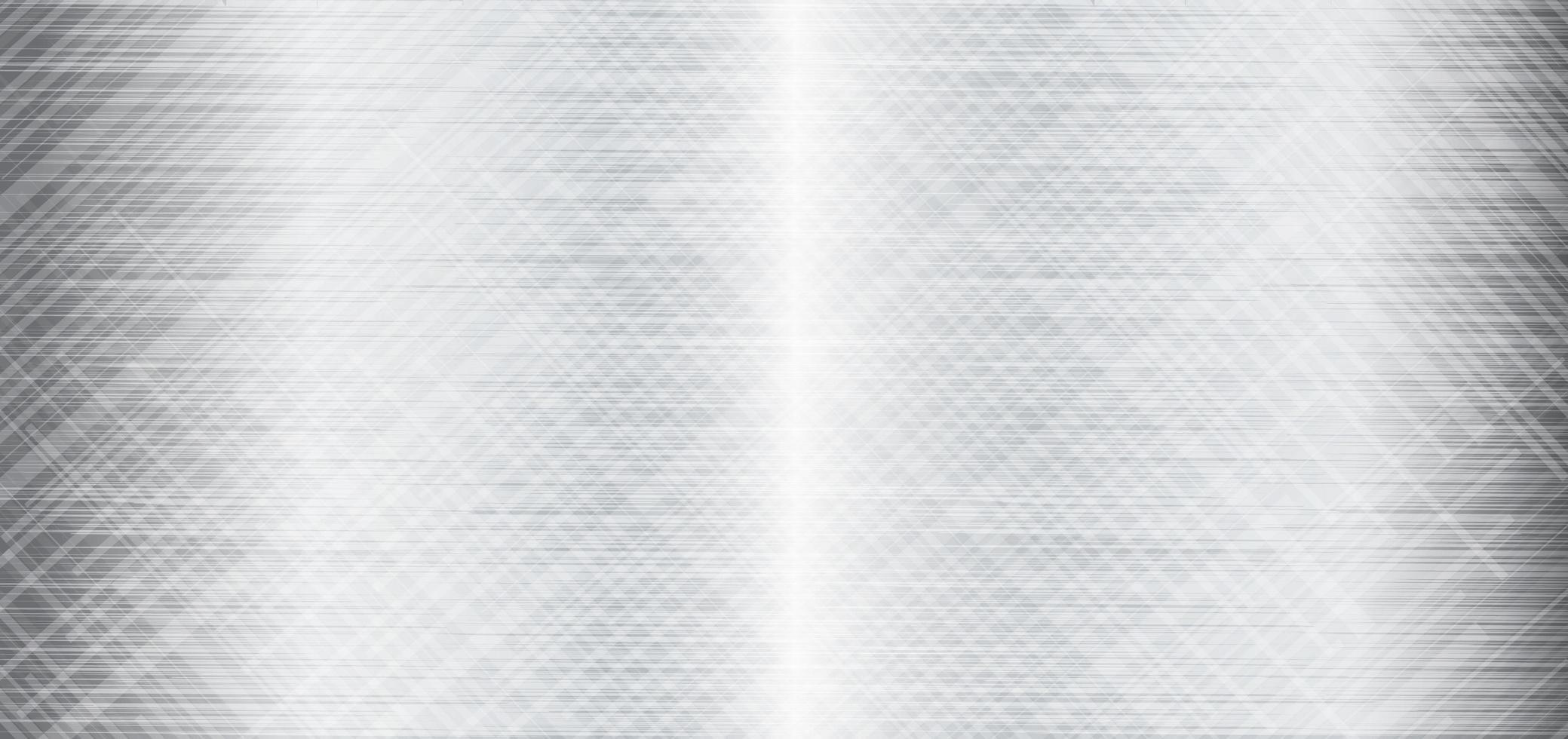 metalen textuur achtergrond, grijs metaal vector