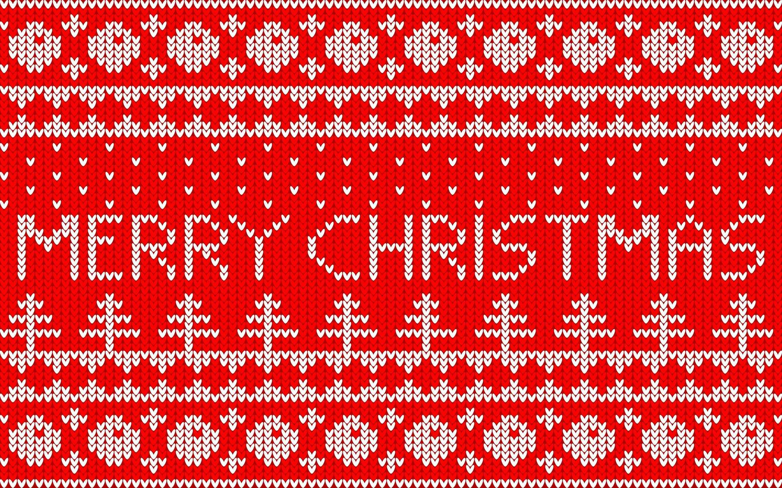 jacquardpatroon voor Kerstmis vector