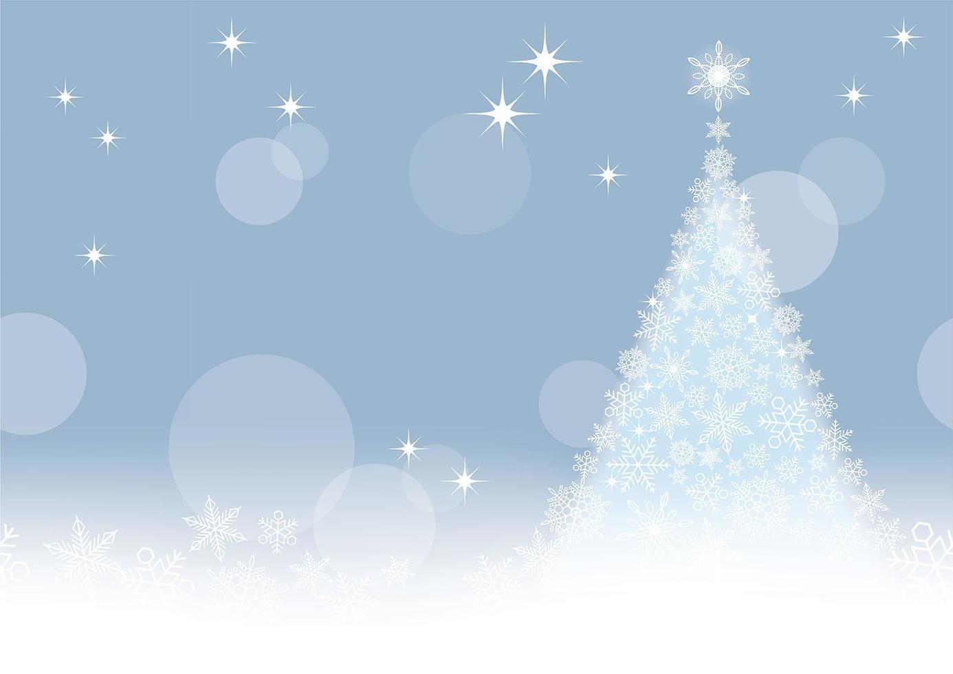 abstracte kerst achtergrond vector
