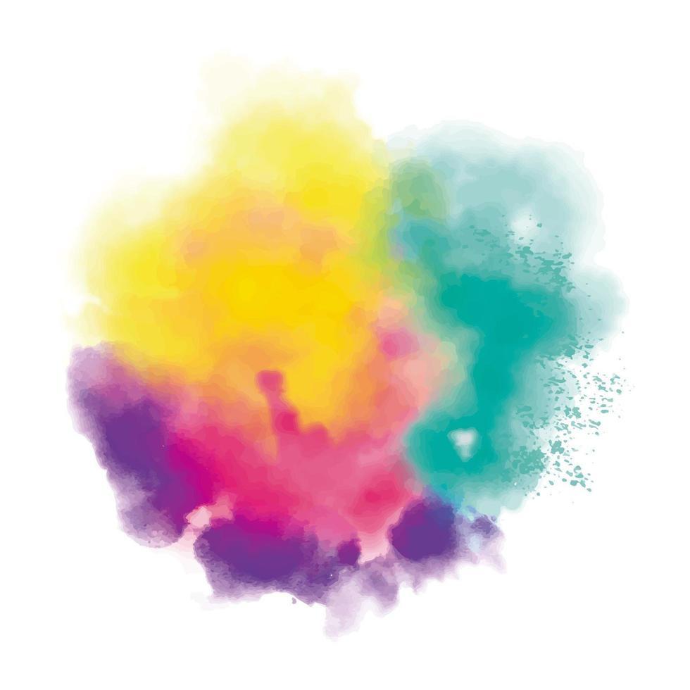 kleurrijke realistische stofwolk vector