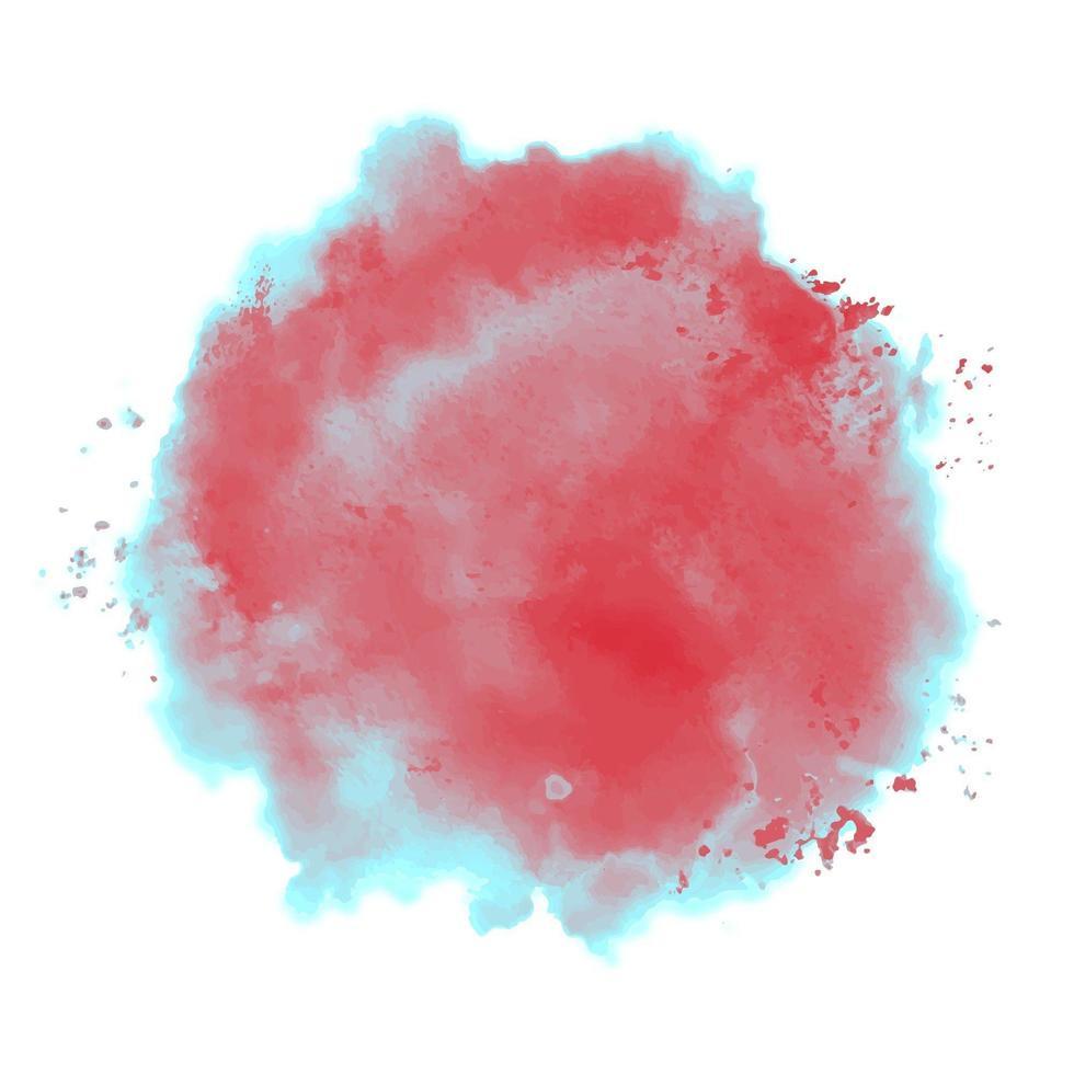 duotoon aquarel splash vector