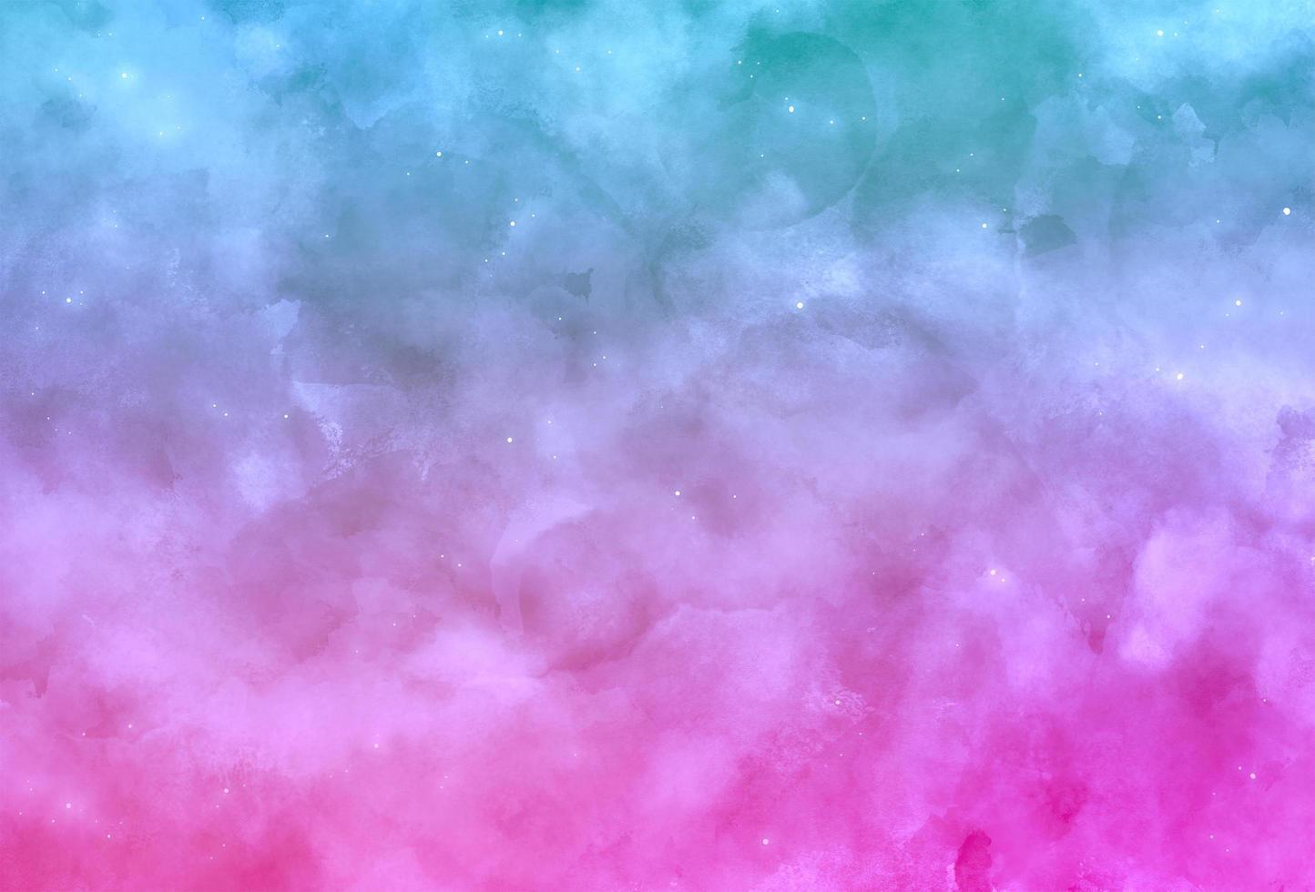blauwe en roze aquarel achtergrond vector