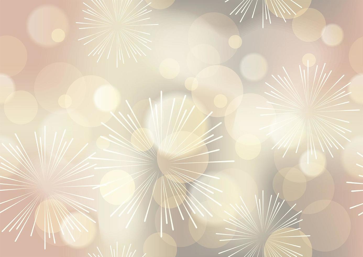 gouden abstracte bokeh achtergrond vector