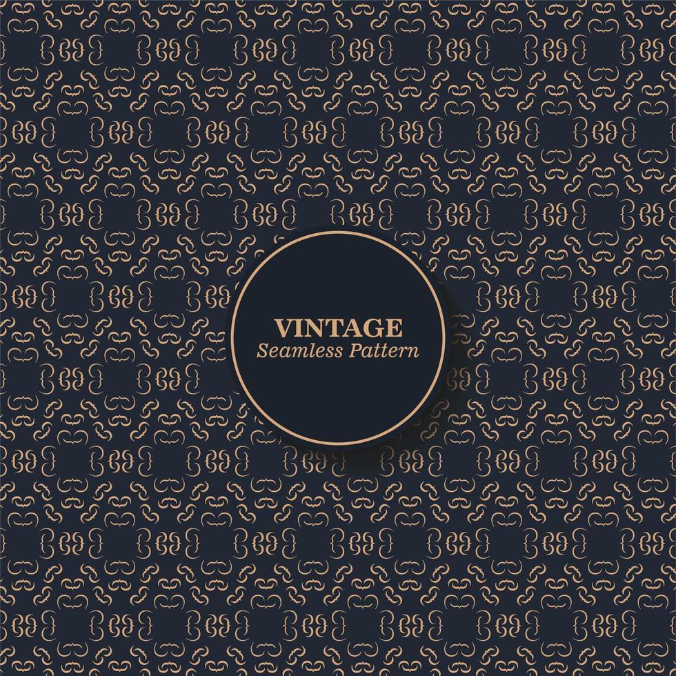 vintage naadloze structuurpatroon vector