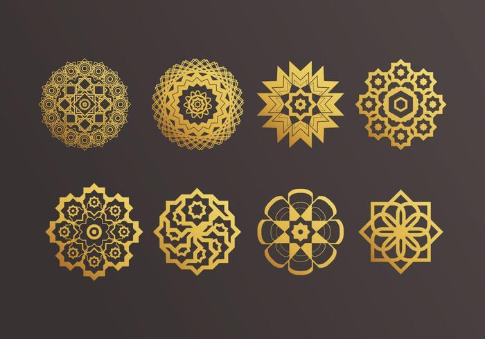 Islamitische Ornamenten Vector