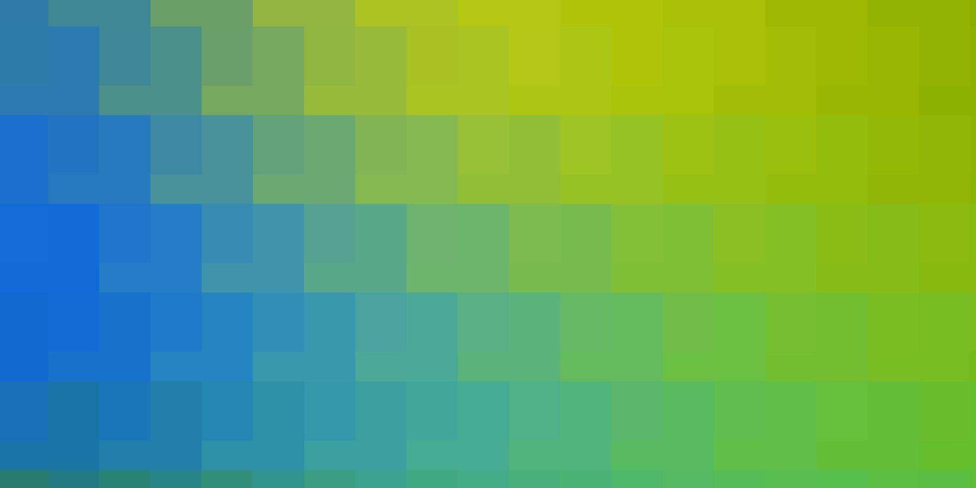 blauwe en groene achtergrond met rechthoeken. vector