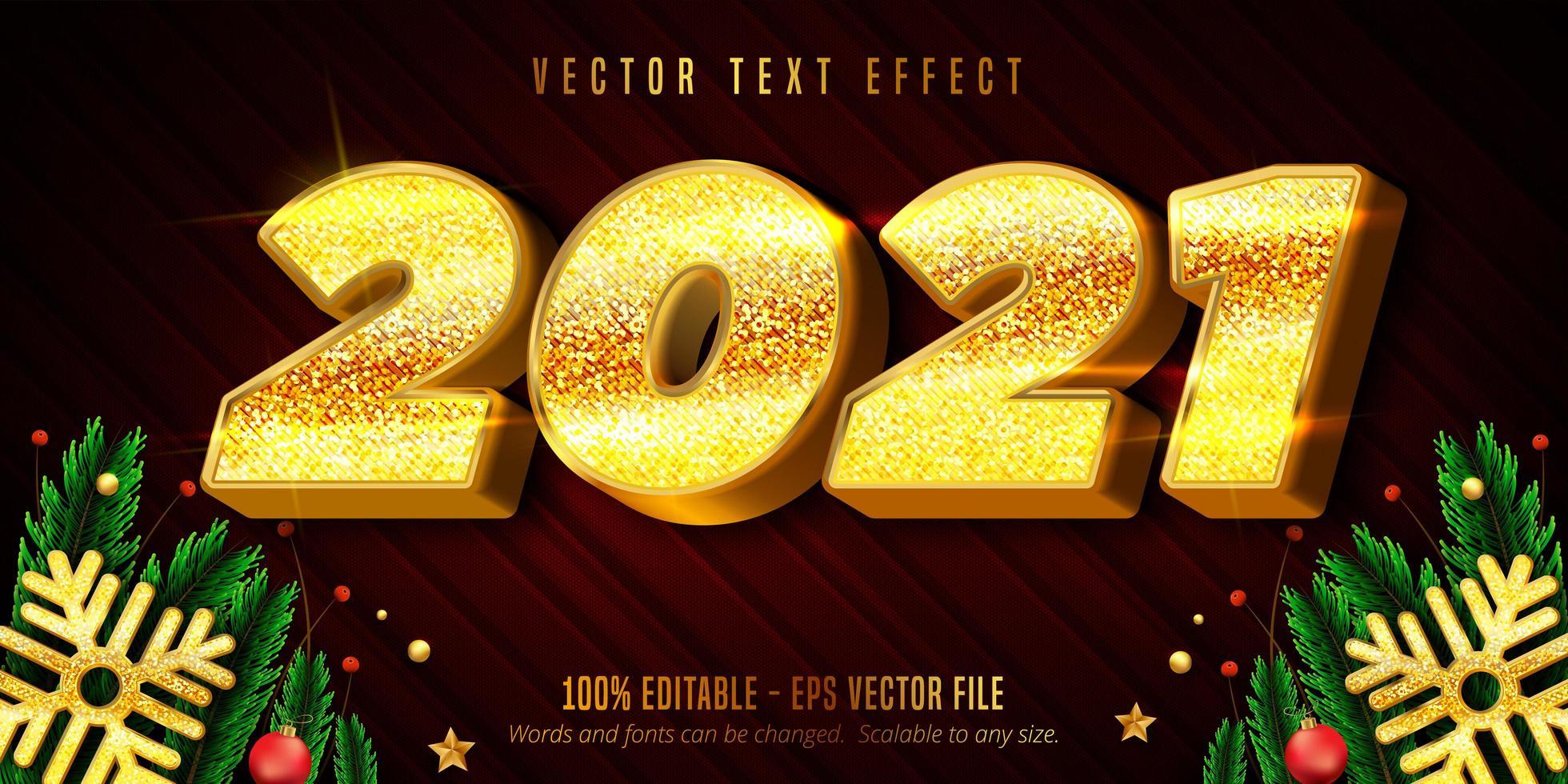2021 gelukkig nieuwjaar tekst vector