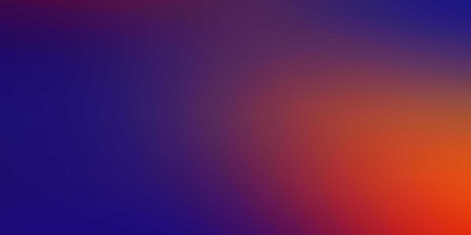 donkerblauwe en rode moderne onscherpe achtergrond vector