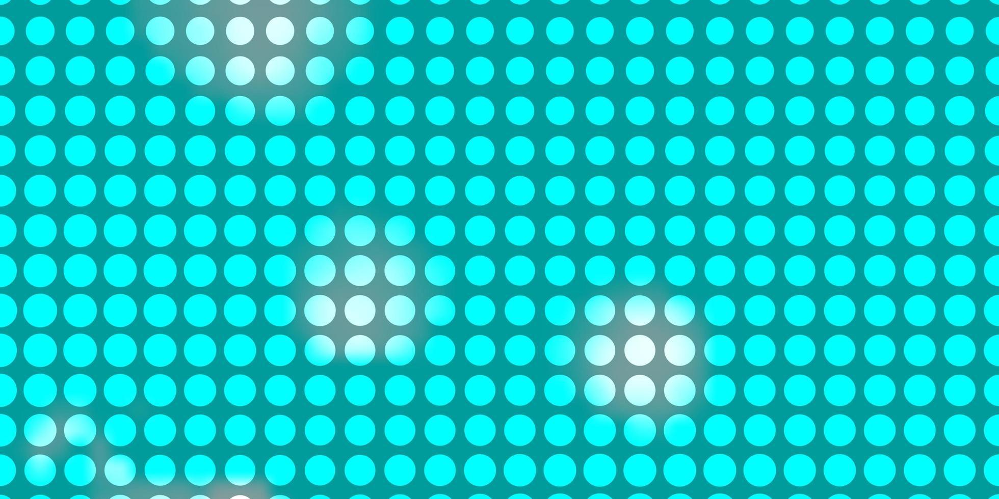 blauwe lay-out met cirkels. vector