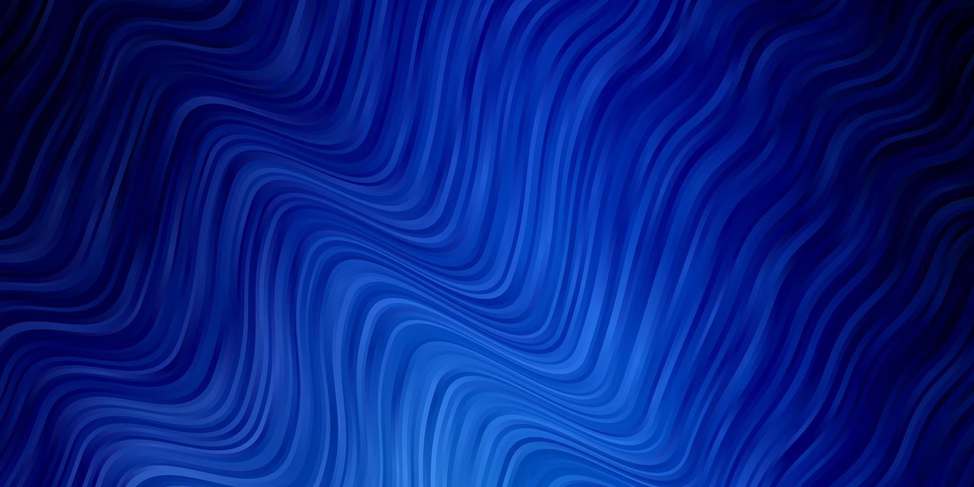 blauwe sjabloon met wrange lijnen. vector