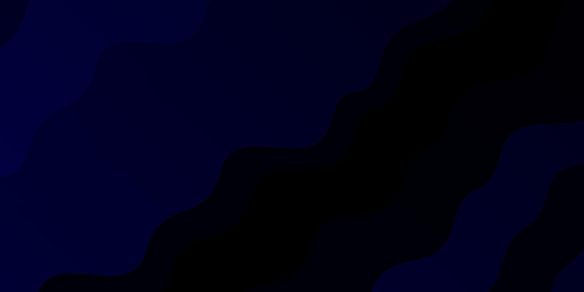 donkerblauwe textuur met rondingen. vector