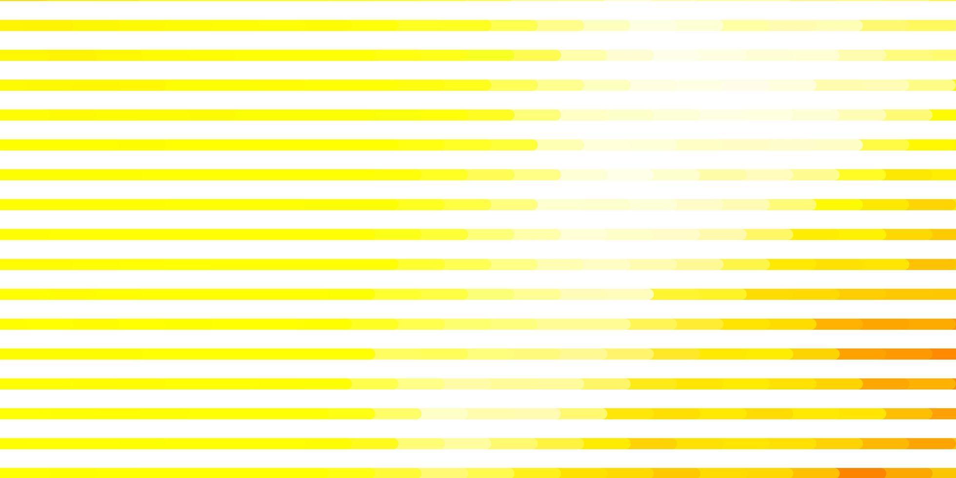 gele lay-out met lijnen. vector