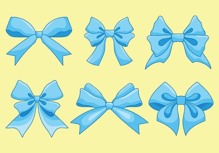 Gratis Hair Ribbon Icons Vector