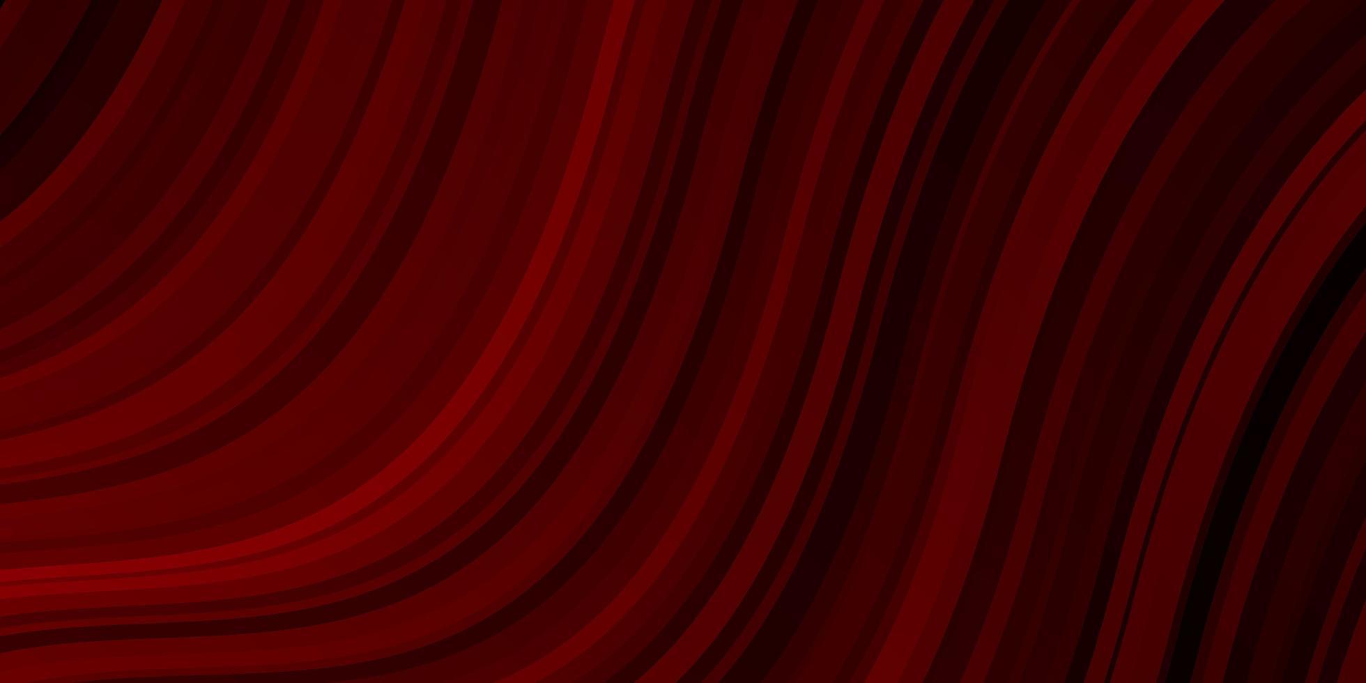 donkerrood patroon met rondingen. vector