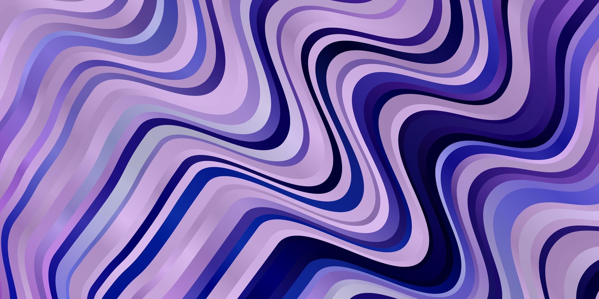 paars patroon met rondingen. vector