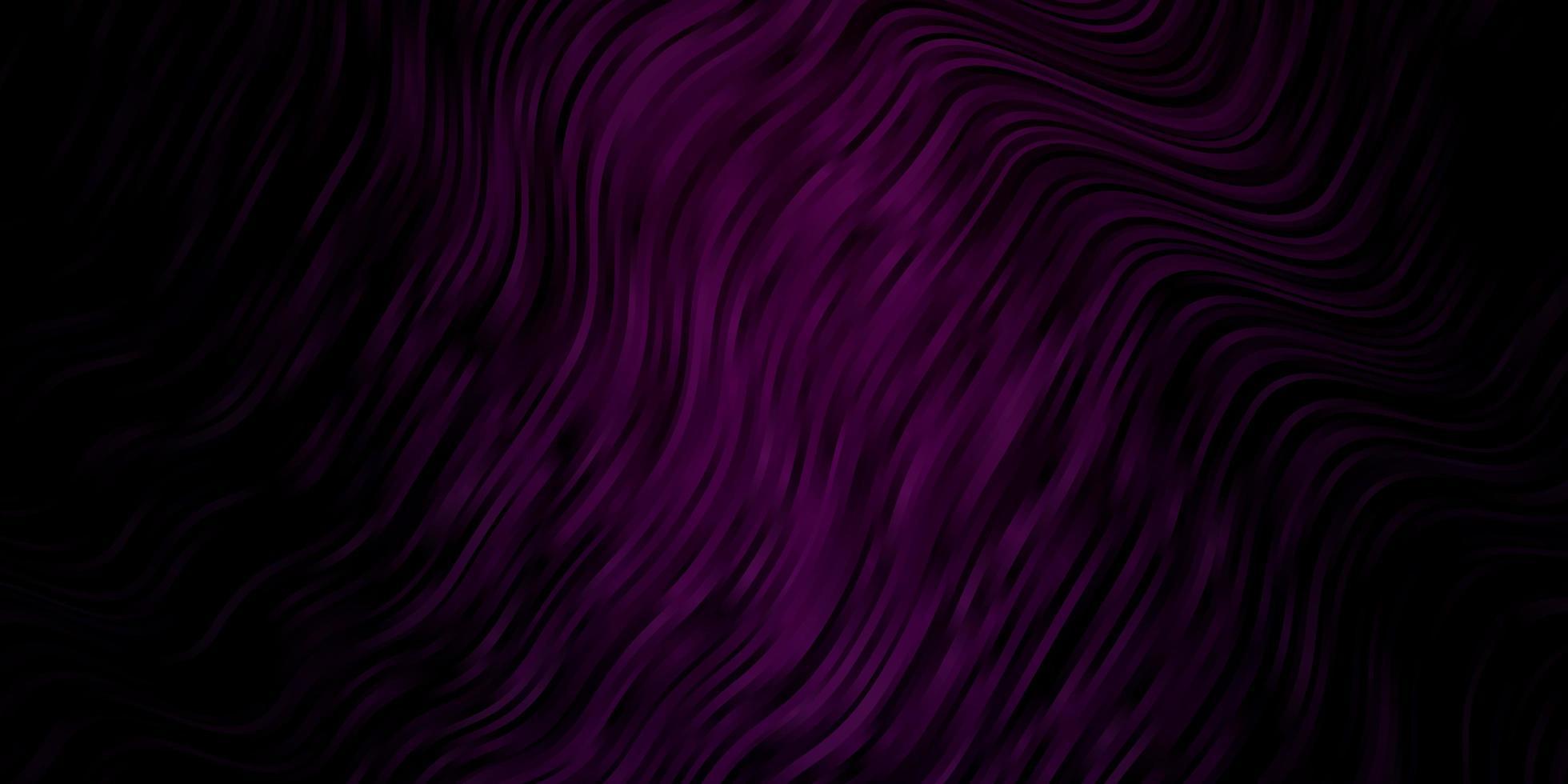 donkerroze achtergrond met bogen. vector