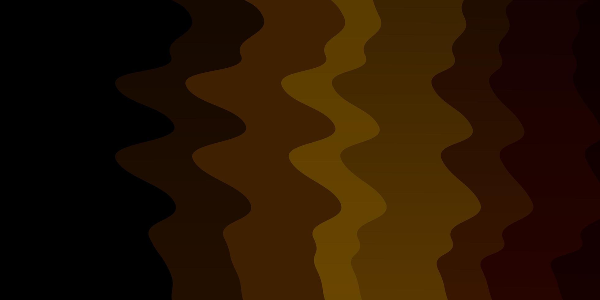 donkerbruin sjabloon met wrange lijnen. vector