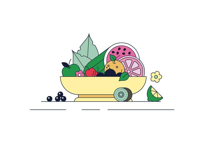 Gratis fruit Vector