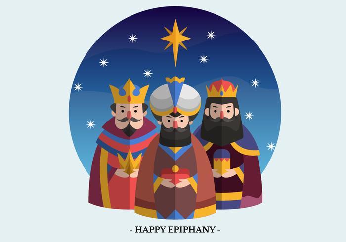 Epiphany Vector Illustratie van het Karakter