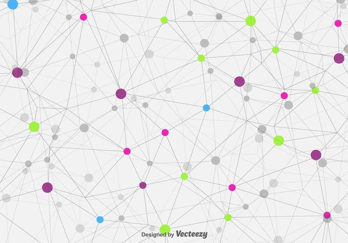 Vector Technologic Molecule Achtergrond
