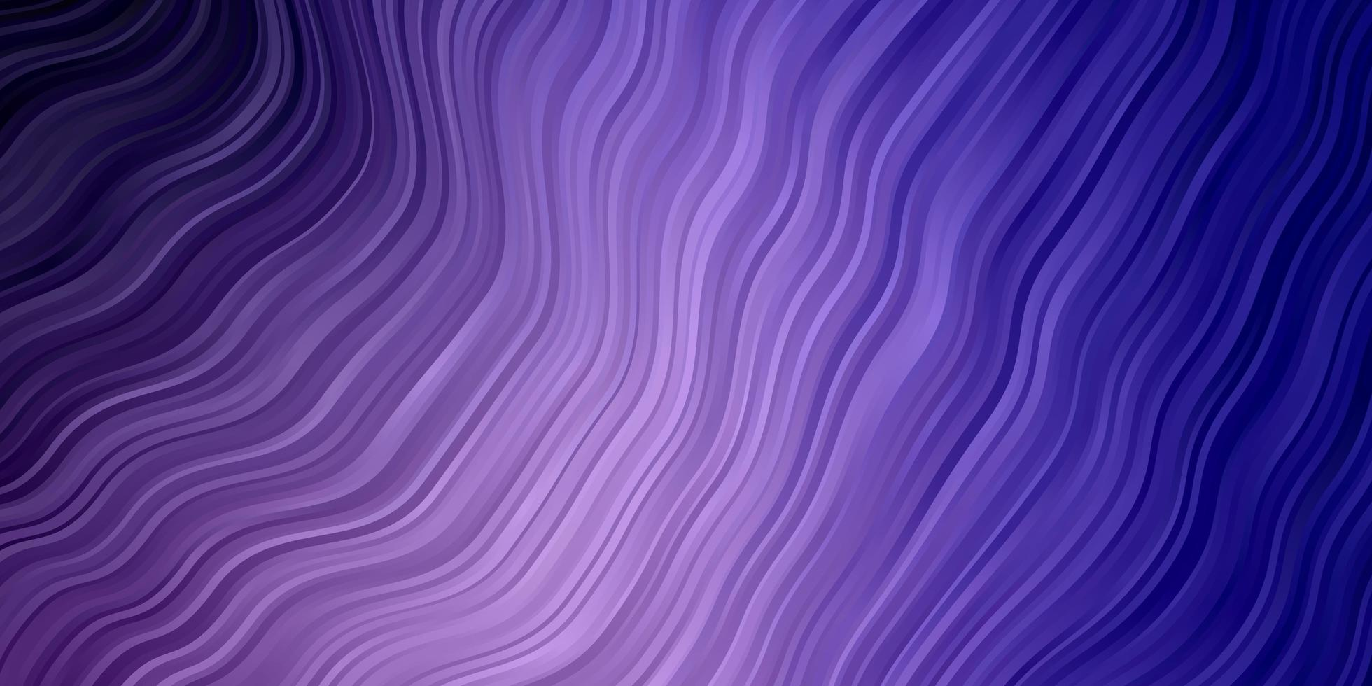lichtpaarse sjabloon met wrange lijnen. vector