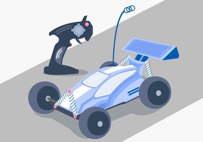 RC Auto Racing Vector