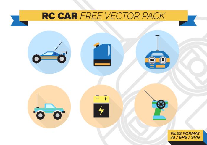 Rc Car Gratis Vector Achtergrond
