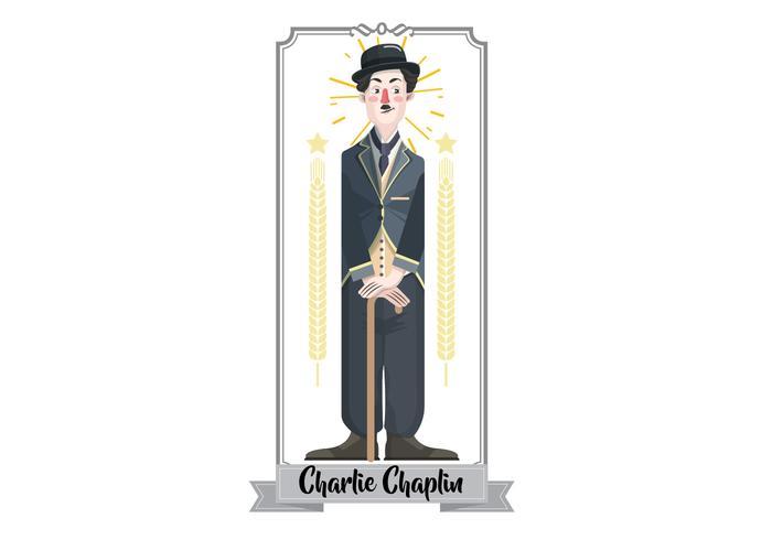 Charlie Chaplin Vector Illustration