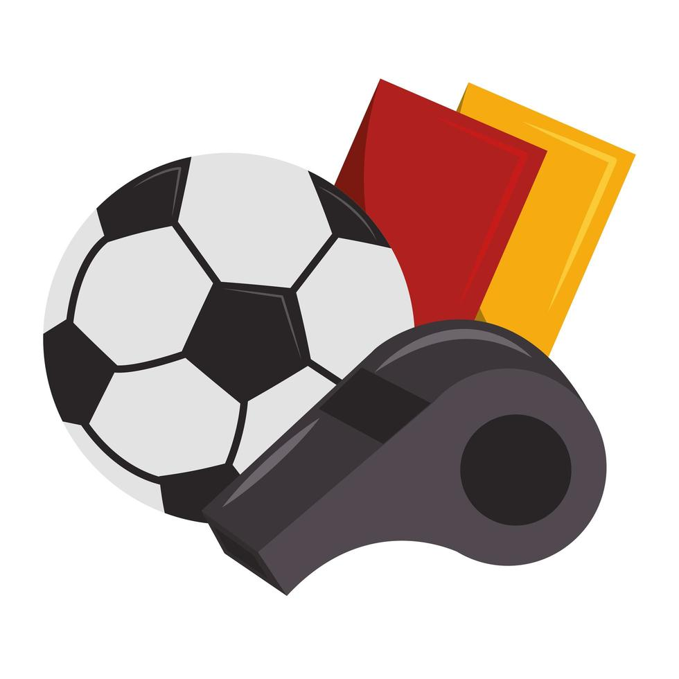 voetbal sport spel cartoon vector