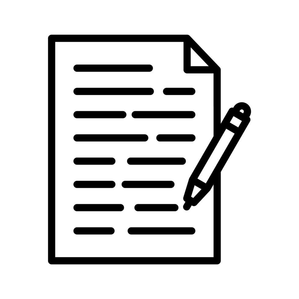 notities vector pictogram