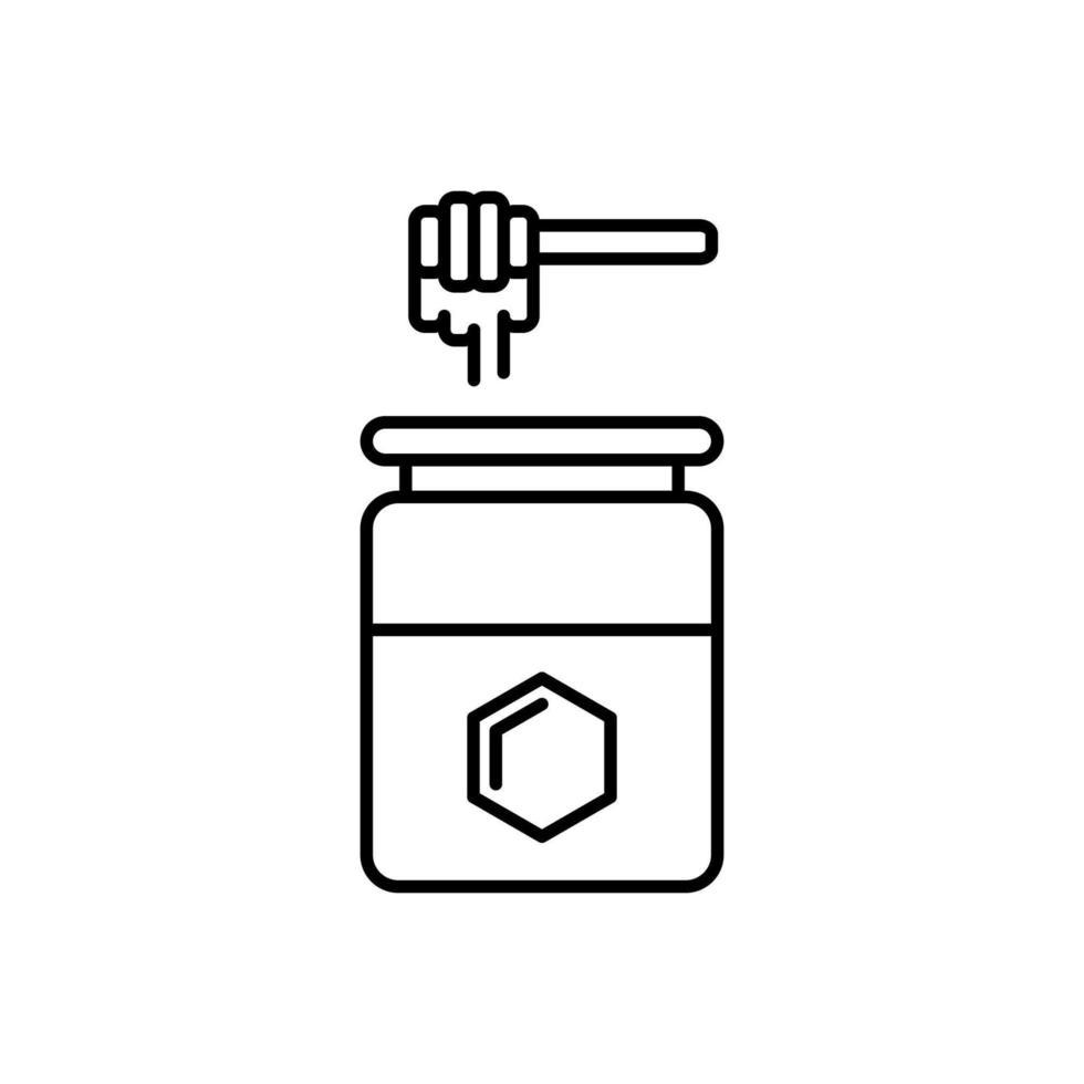 honingpot pictogram vector