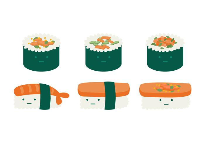 Leuke Temaki Collection vector