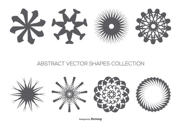 Abstracte Vectorvormen Collectie vector