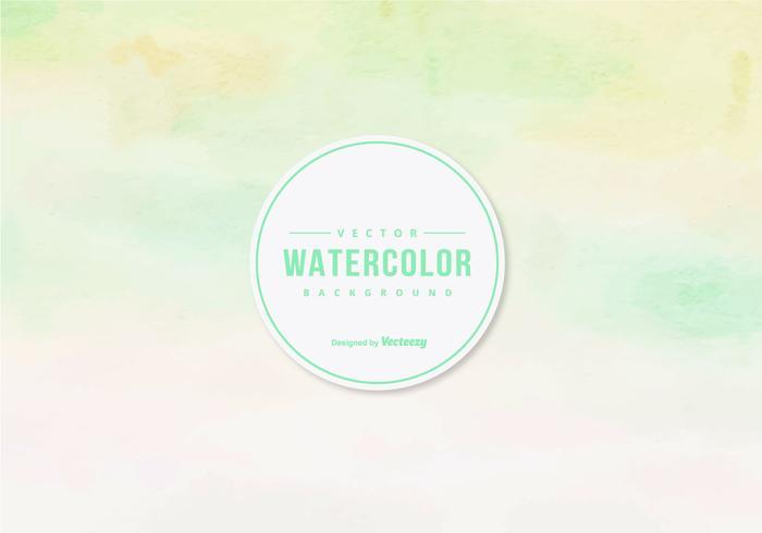 Pastel Waterverf Vector Achtergrond