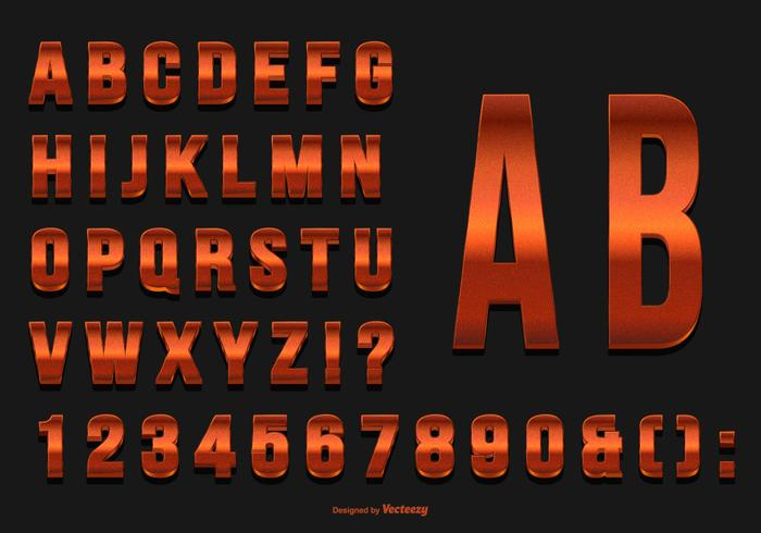 Glittery rode alfabet collectie vector