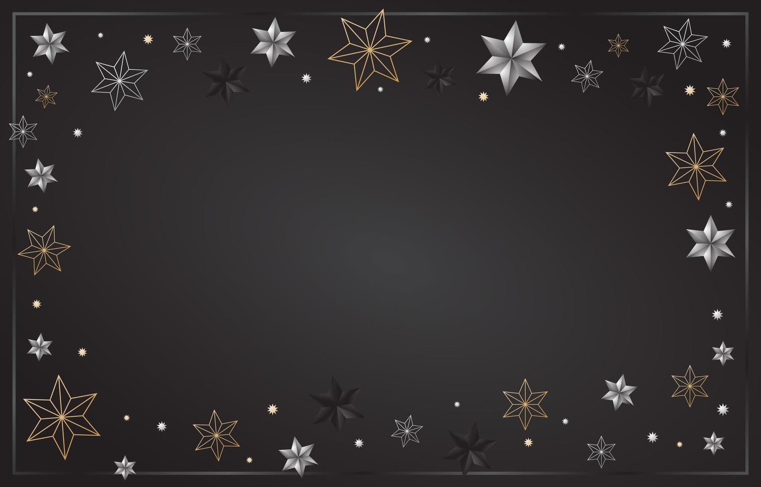 achtergrond van sterren vector