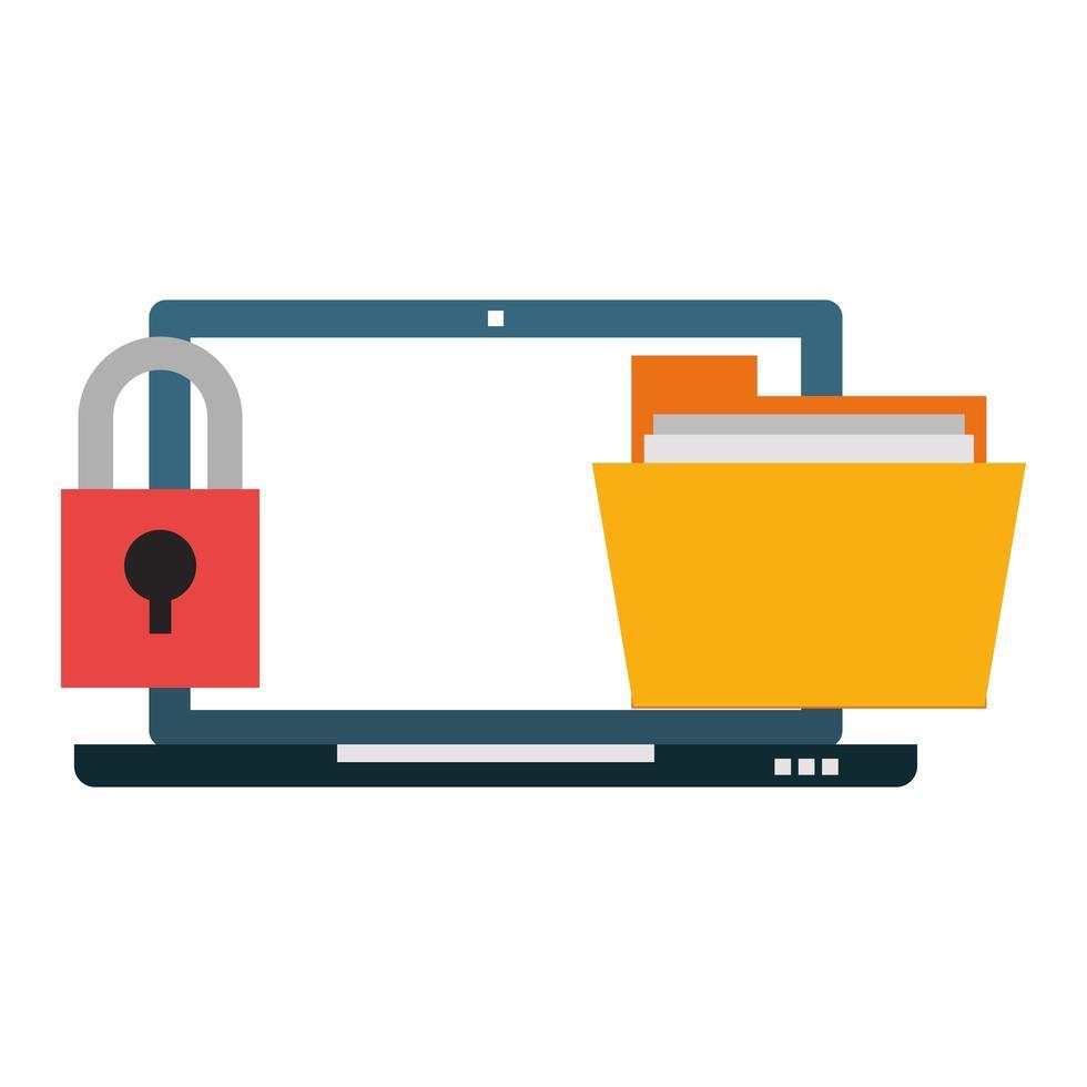 bedrijfs- en beveiligingssysteemconcept vector