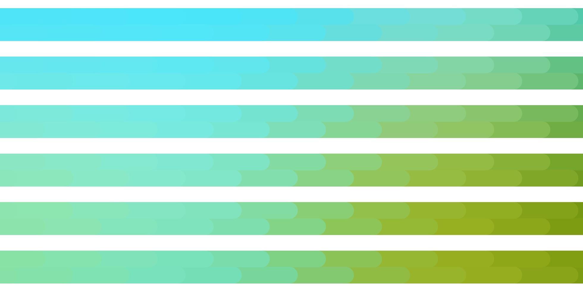 lichtblauw, groen sjabloon met lijnen. vector