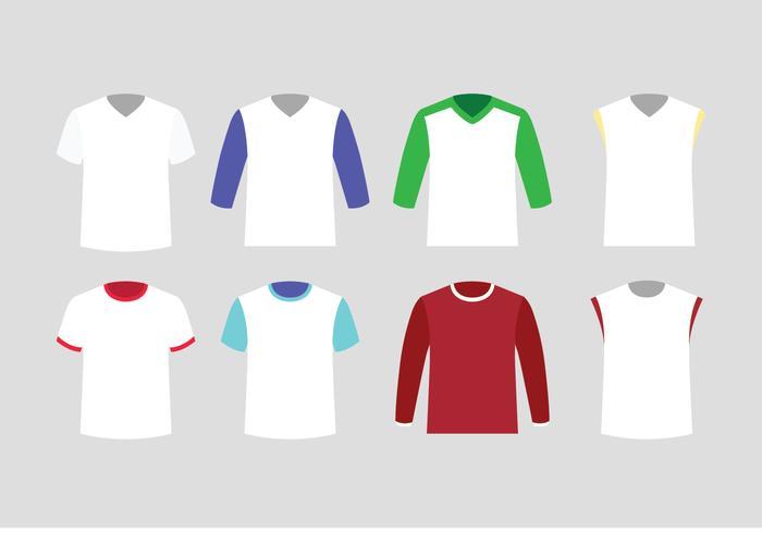 T-shirt Sjabloon Vector Pack