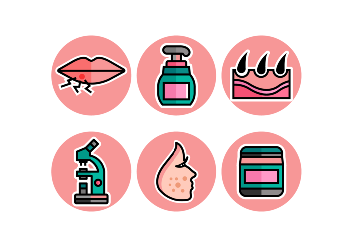Dermatologie Gratis Vector Pack