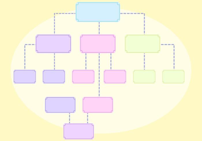 Vrije Organizational Chart Vectors