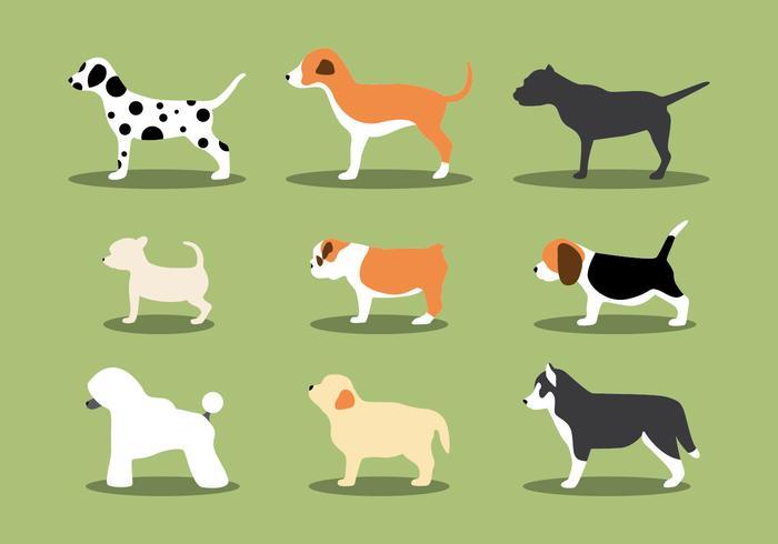 De Puppies Vectors