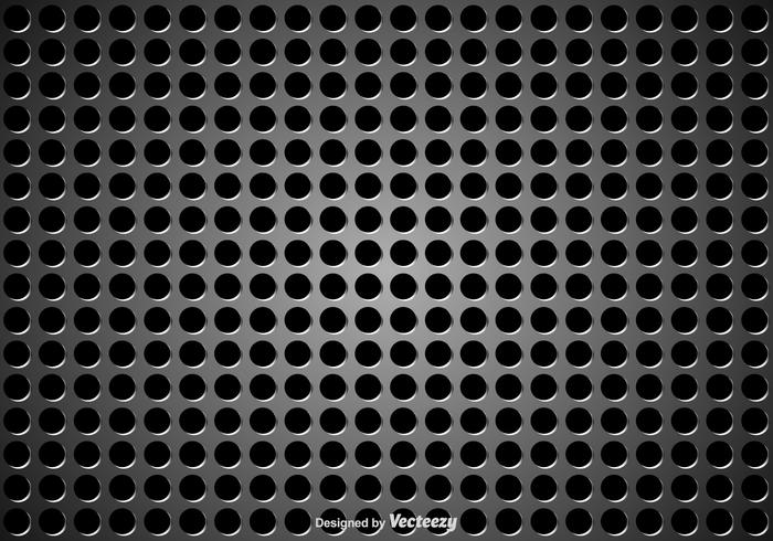 Speaker Grill Metaal Textuur vector