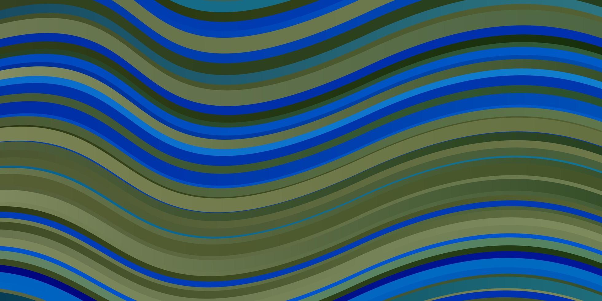 donkerblauwe achtergrond met wrange lijnen. vector