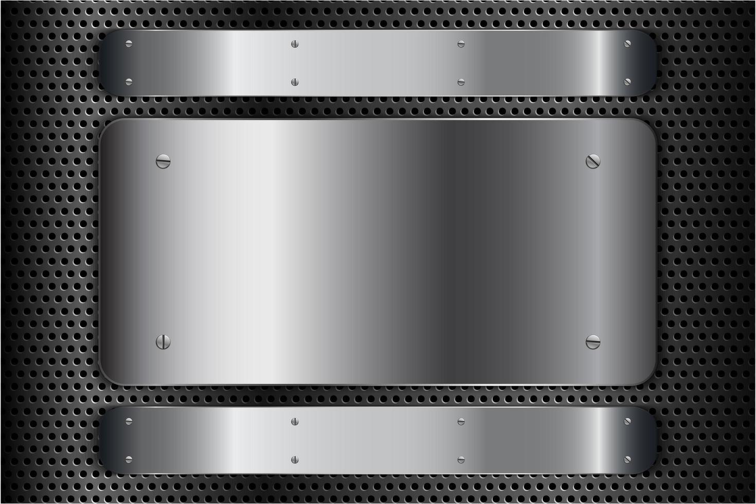 moderne zilver metallic achtergrond vector