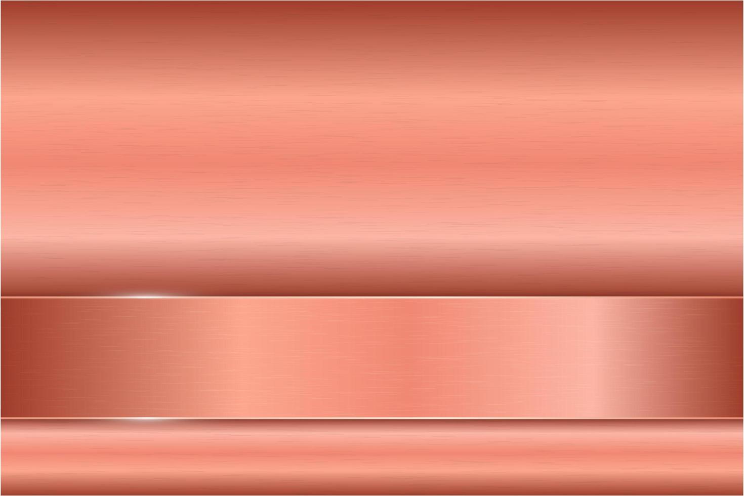 moderne roze metalen achtergrond vector