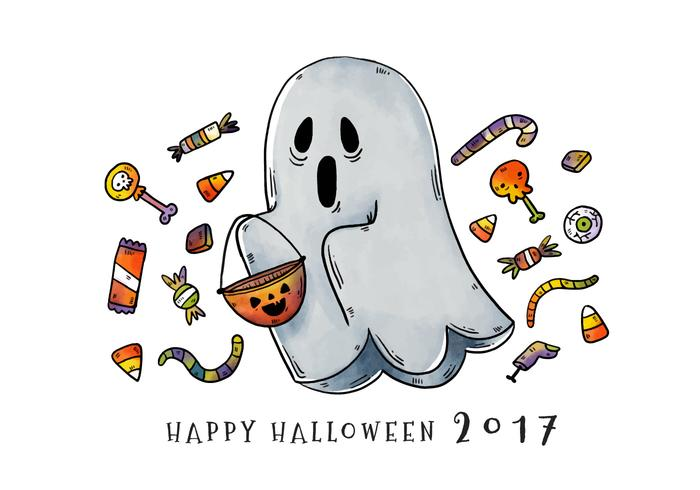 Leuk En Enge Trick Of Behandeling Ghost Vector